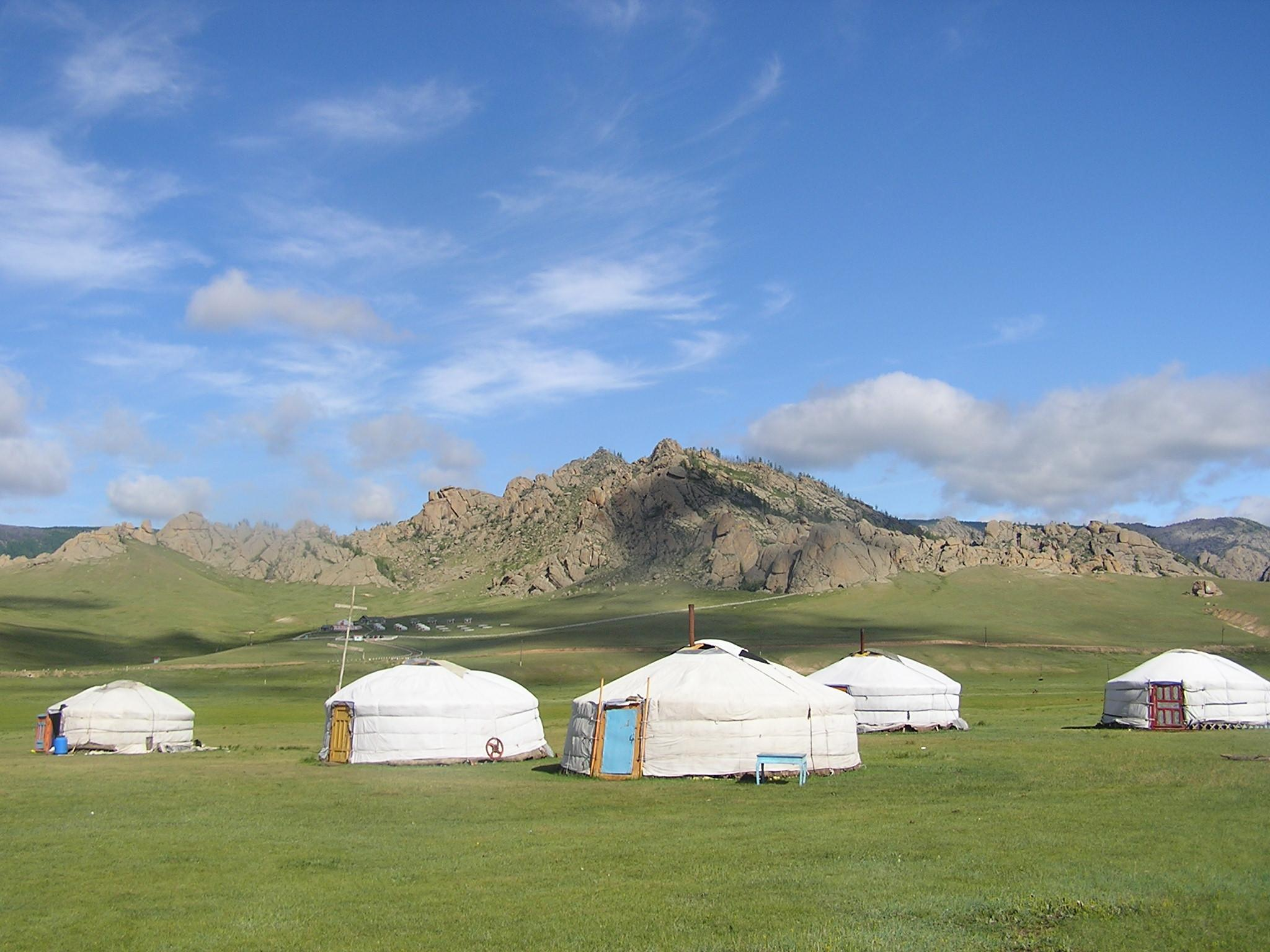 Terelj National Park is where Projects Abroad volunteers will live and work with Nomads in Mongolia.